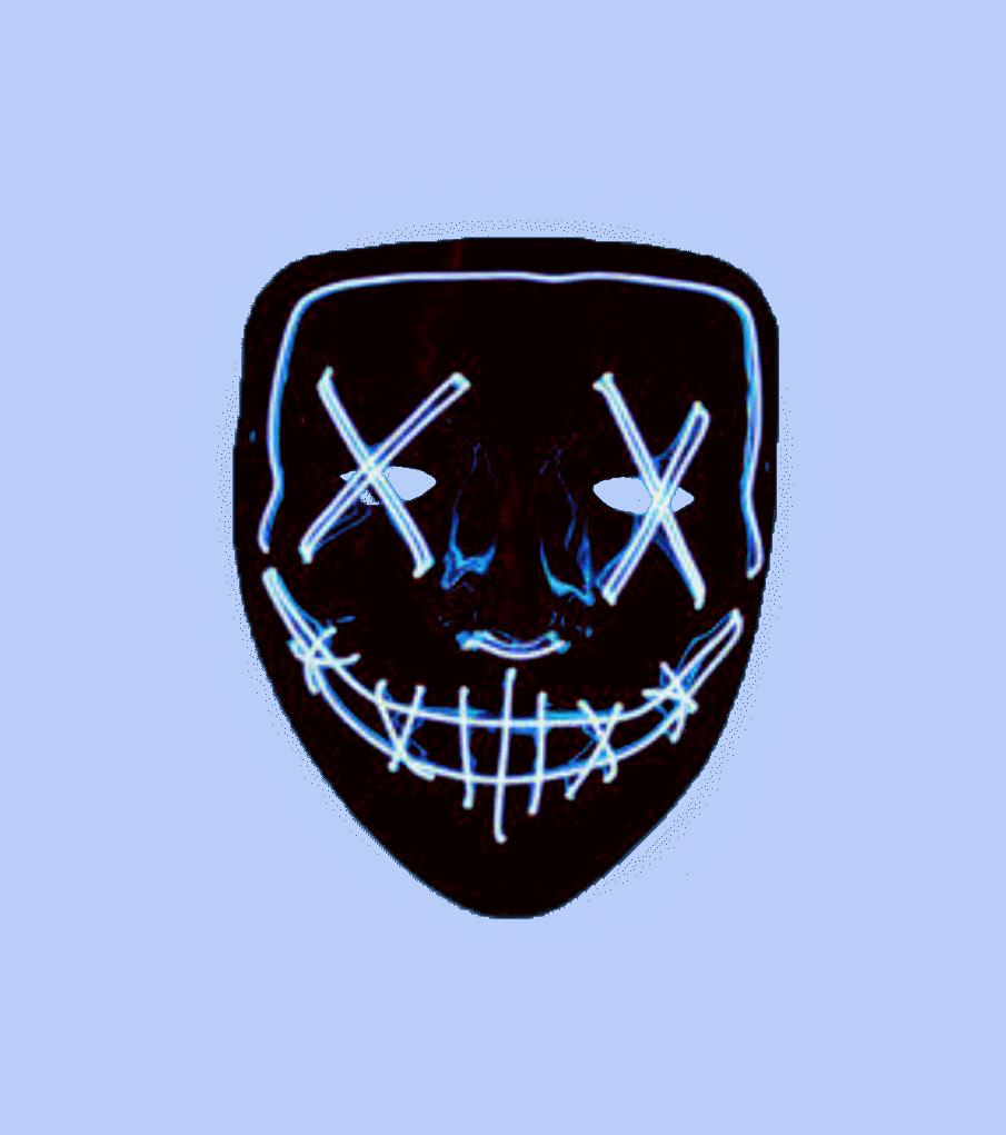Неоновая маска