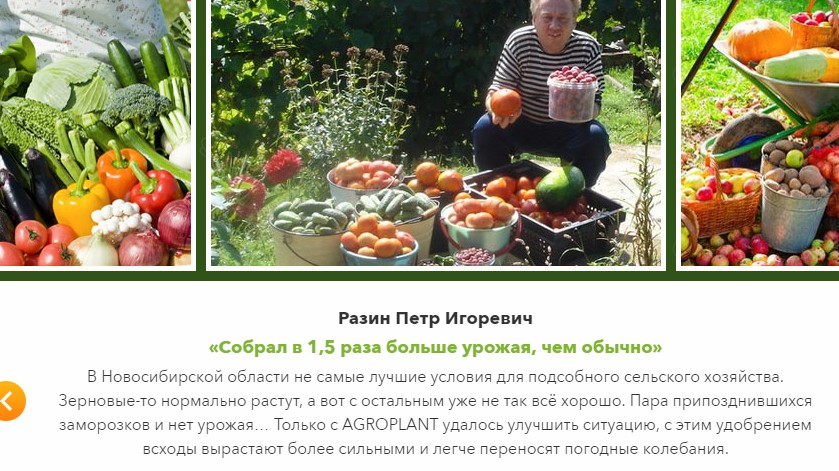 Agroplant отзывы покупателей