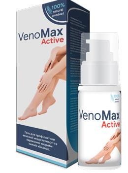 VenoMax Active — гель для лечения варикоза, разработанный в Швейцарии