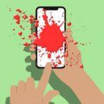 Смартфон стал важной причиной ушибов, сотрясений и рваных ран лица