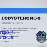 Ecdysterone-S (Экдистерон С) – инструкция по применению