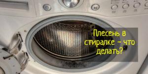 Что делать, если появилась плесень в стиральной машине